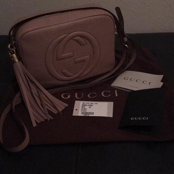 c524b295e6b2 Gucci Bags   Authentic Soho Disco In Rare Color Cipria   Poshmark